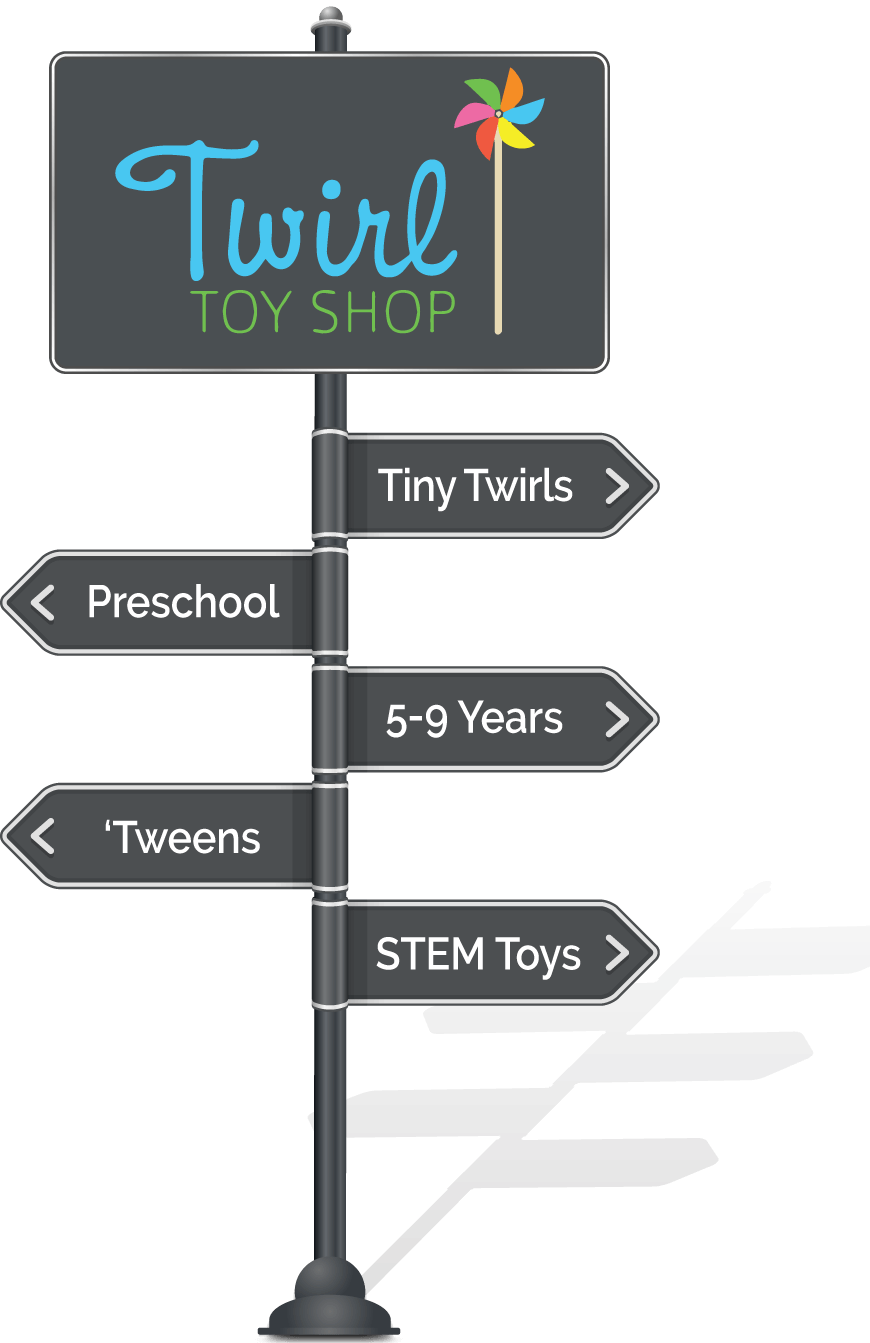 Twirl Toy Shop: Tiny Twirls, Preschool, 5-9 Years, 'Tweens, STEM Toys